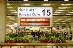 данные по заявки багажа стоковая фотография