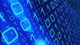 Данные по компьютера искусственного интеллекта машинного обучения цифровые иллюстрация штока