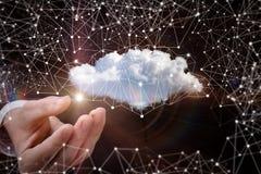 Данные по сети облака Стоковое Фото