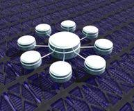 данные по соединений Стоковое фото RF