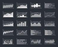 Данные по финансового рынка дела изображают диаграммой вектор диаграммы роста концепции данным по вклада валюты диаграмм infograp иллюстрация вектора