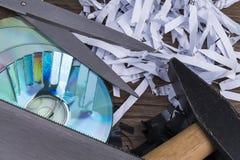 Данные shredding Стоковые Фото