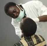 Дантист в Африке Стоковое фото RF