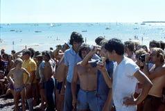 1976 Дарвин, n T australites Регата банки пива Стоковая Фотография