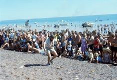 1976 Дарвин, n T australites Регата банки пива Стоковые Изображения