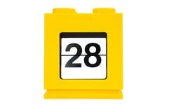 дата календара Стоковое Изображение