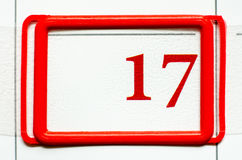 Дата календара Стоковые Фотографии RF
