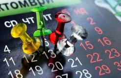 Дата календаря 13 Стоковое Изображение RF