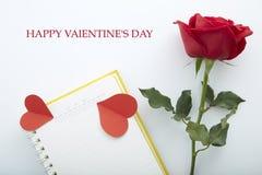 Дата 14-ое февраля Стоковая Фотография