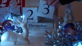 Дата 23-ье декабря преграждает календарь пришествия акции видеоматериалы
