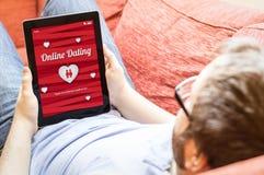 Датировать битника онлайн Стоковые Изображения