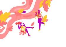 Датировка лета красочное бесплатная иллюстрация