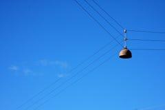 Датская лампа на кабелях Стоковое Изображение