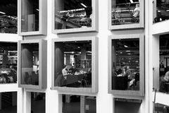 Датская национальная библиотека Стоковые Изображения RF