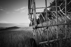 Датская сельская местность - idyl сельского хозяйства Стоковые Фото
