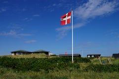 датские дюны Стоковое Фото