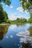 датские озера острова landscape вода wadden моря природы малая приливная одичалая стоковые изображения rf