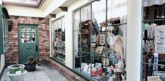 Датский магазин городка снаружи стоковое фото