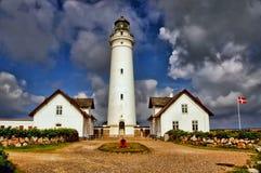 Датский маяк стоковые фото
