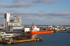 датский морской порт Стоковые Изображения RF