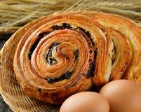 Датское печенье на белизне стоковое фото rf