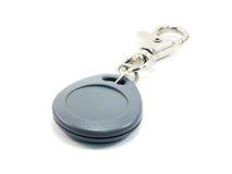 Датчики двери безопасностью ключа цвета ключевой двери безопасностью серые изолированные на белой предпосылке изолированной на бе Стоковое фото RF