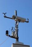 Датчики видеокамеры и погоды Стоковая Фотография RF