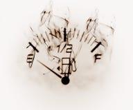 датчик уровня горючего Стоковые Изображения RF