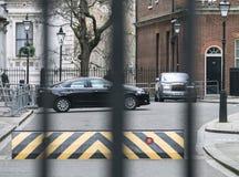 Даунинг-стрит Лондон Великобритания Стоковое Фото