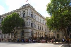 10 Даунинг-стрит Лондон Стоковые Фотографии RF