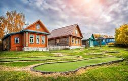 Дачи гольф-клуба Стоковые Изображения