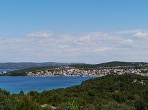 Дачи и квартиры в Хорватии Стоковые Изображения