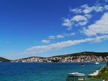 Дачи и квартиры в Хорватии Стоковое Фото