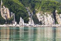Далекий восток России. Побережье японского моря Стоковая Фотография