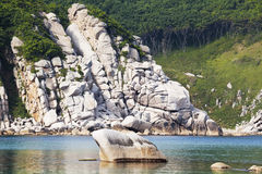 Далекий восток России. Побережье японского моря Стоковое Изображение