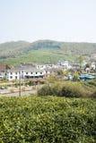 Далеко см. деревню Huanglongxian стоковые фото