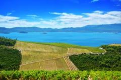 Далматинское побережье Хорватия Стоковые Фотографии RF