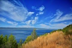 Далматинское побережье Хорватия Стоковые Изображения
