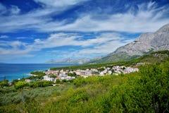 Далматинское побережье Хорватия Стоковые Фото