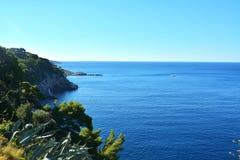 Далматинское побережье Хорватия Стоковое Изображение RF