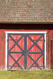 Двери амбара Стоковая Фотография