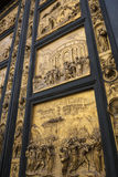 Двери баптистерего - Флоренс - Италия Стоковое Фото