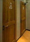 Двери ванной комнаты Стоковое Фото