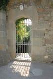 двери выковали металл Стоковая Фотография