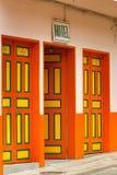 Двери в Колумбии стоковая фотография