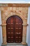 Двери в старом доме Стоковые Фотографии RF