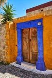 Двери в старом доме Стоковая Фотография