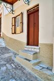 Двери в старом доме Стоковое Изображение RF