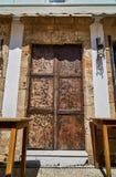 Двери в старом доме Стоковое Фото