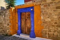Двери в старом доме Стоковое фото RF